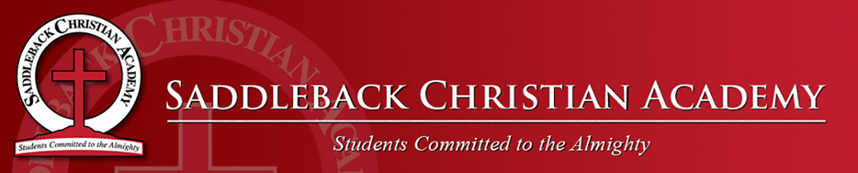 Saddleback Christian Academy Logo