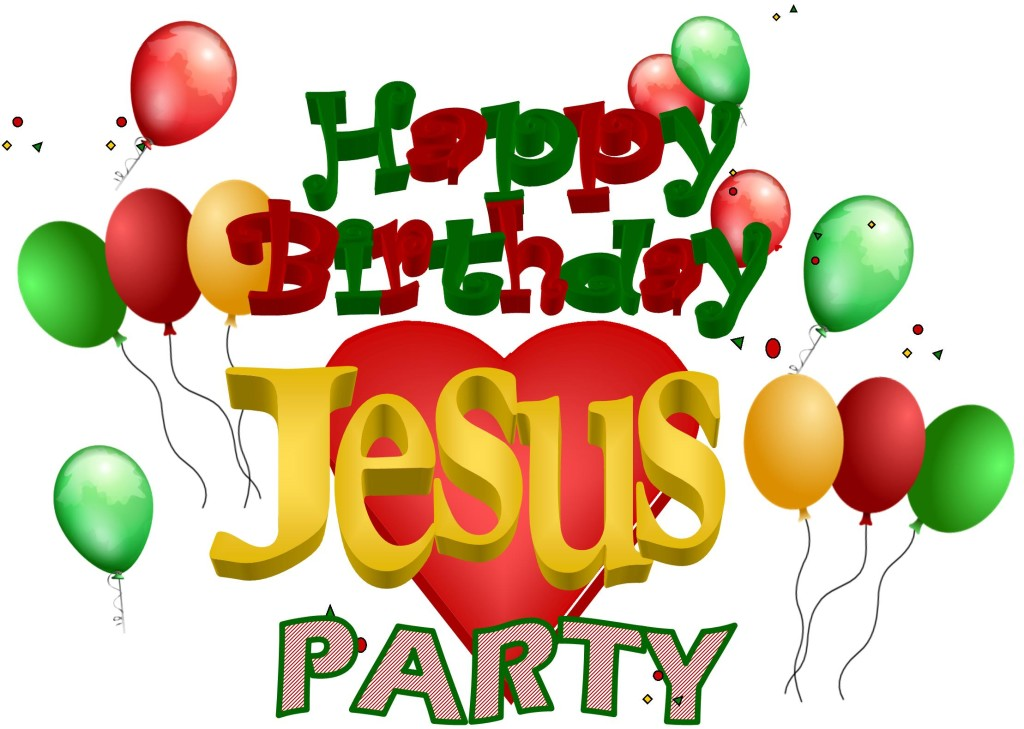 Happy Birthday Jesus Christmas Party