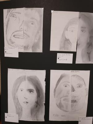 Art & Science Fair, Art Student progress