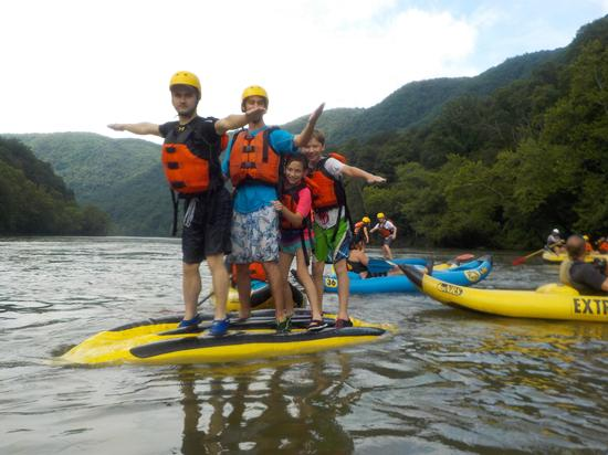 White Water Rafting 8/7/2018