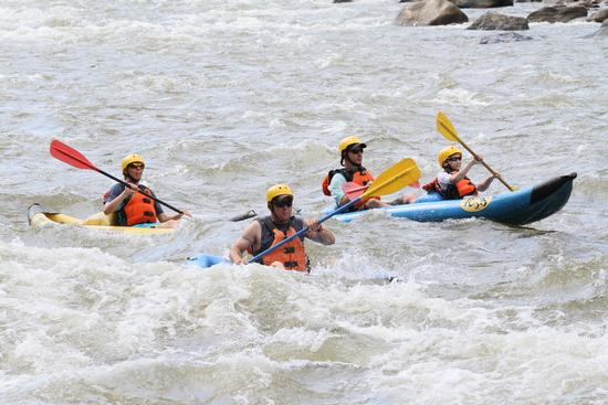 White Water Rafting 8/7/18