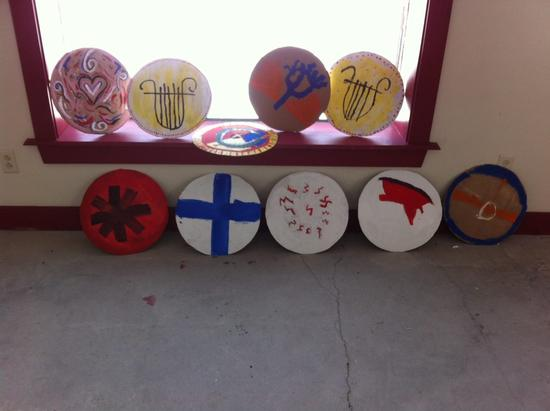 Camp Half Blood Shields