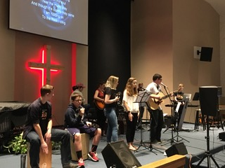 Worship Leading Class at Showcase