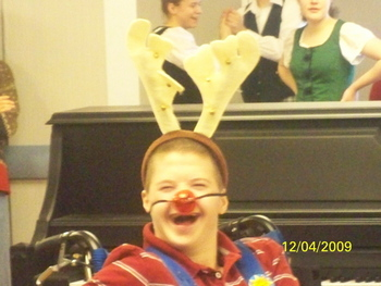 Rudolph paid a visit and brought smiles!!!