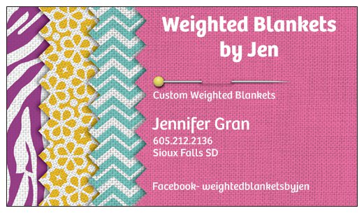 Weighted Blankets by Jen