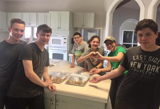 Community Service at Ronald McDonald House