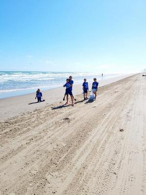 Community Service Beach Clean-up