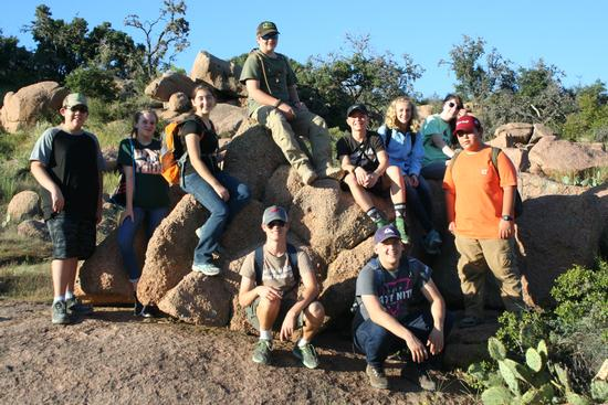 Geology at Enchanted Rock