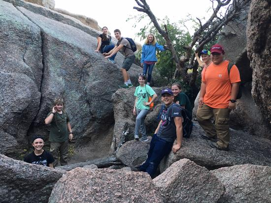 Caves at Enchanted Rock