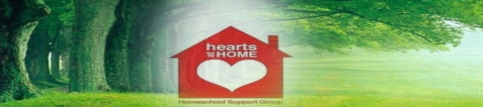 Hearts At Home Homeschool Support Group