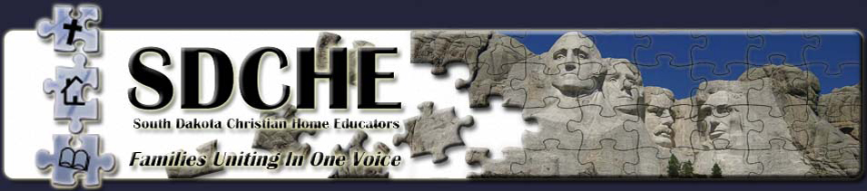 SDCHE - South Dakota Christian Home Educators