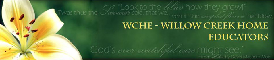 WCHE - Willow Creek Home Educators