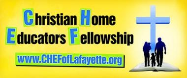 Christian Home Educators Fellowship of Lafayette Logo