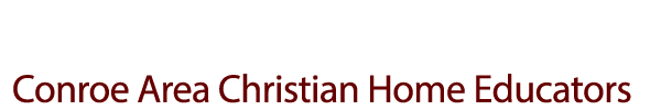 Conroe Area Christian Home Educators Logo