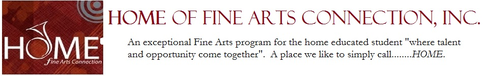HOME of Fine Arts Connection Inc. Logo